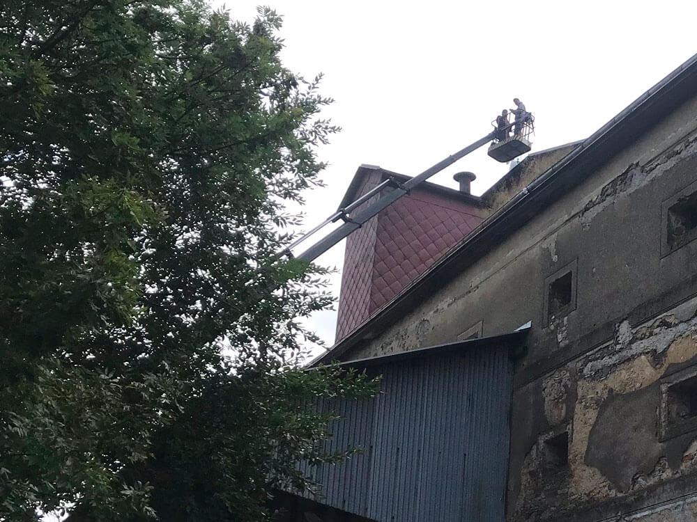Pracovní plošina TIZMAR - Autodoprava Svatek Tábor