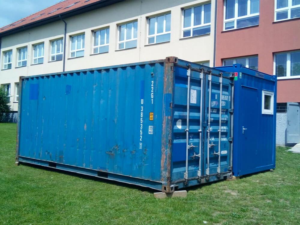 Půjčovna obytných a skladových kontejnerů - Autodoprava Svatek Tábor